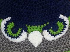 Seahawk Style Crochet Beanie, Handmade w by Lady Lynelle @ Etsy! Crochet Beanie, Crochet Hats, Girl With Hat, Crochet Patterns, Kids Rugs, Seattle Seahawks, Original Art, Gifts, Handmade