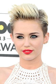 Miley Cyrus - 33 Pixie Cuts  Short Hairstyles in 2014 We Love - Harper's BAZAAR  #hair #beauty #wolverhampton