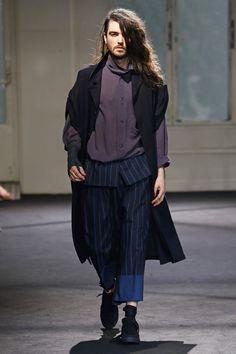 Yohji Yamamoto | Menswear - Spring 2017 | Look 21