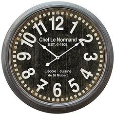 Yosemite Home Decor Circular Iron Wall Clock, Gray Iron F... https://www.amazon.com/dp/B00H1TFJ7C/ref=cm_sw_r_pi_dp_x_J6tkyb252QTXV