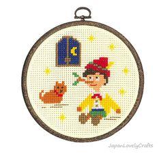 Japanese Cross Stitch Kit Tutorial Kawaii Fairy Tale