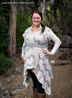 Snag off the new Amy Cardi Pattern (in either knit or crochet) through at (MST). Pattern includes sizes Toddler through Adult Easy Scarf Knitting Patterns, Knit Cardigan Pattern, Knitting Designs, Knitting Ideas, Knit Patterns, Knitting Projects, Finger Knitting, Free Knitting, Cheap Kids Clothes