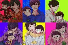 Dark Anime Guys, Cute Anime Guys, Anime Love, Anime Chibi, Manga Anime, Gakuen Babysitters, Gekkan Shoujo Nozaki Kun, Ichimatsu, Yandere