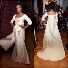 Therez Fleetwood introduced the BlackBride collection of bridal gowns - At www.blackbride.com Bridal Brunch.