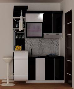 kitchen set minimalis hub 0817351851