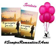 SEMPRE ROMÂNTICA!!: Sorteio #SempreRomantica8Anos - Arqueiro