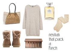 """""""less is more"""" by wendy-tankson ❤ liked on Polyvore featuring Eleventy, UGG, Chanel and Urban Decay"""