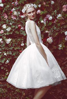 Brides.com: . Wedding dress by Honor for Stone Fox Bride