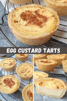 Custard Recipes, Tart Recipes, English Custard Recipe, Egg Recipes, Dessert Recipes, English Desserts, Custard Tart, Shortcrust Pastry, Desert Recipes