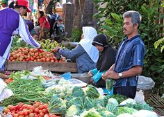 Sunday Street Market, Bandung, Indonesia