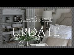 Guest Bedroom & Bath First Update featuring the @RotatorRod, the original curved shower rod that rotates! From @AtHomeWithNikki - YouTube
