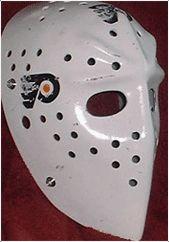 Bernie Parent's mask... Bernie Parent, Goalie Mask, Nhl, Hockey, Masks, Field Hockey, Ice Hockey