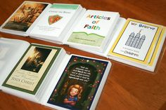 Cute quiet books for church; great articles of faith baptism gift?