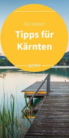 Finde hier unsere liebsten Tipps und Ausflugsziele für Kärnten für deinen Sommer in Österreich. Freue dich auf wunderschöne Seen, Kulinarik und Outdoor. Seen, Movies, Movie Posters, Outdoor, Road Trip Destinations, Things To Do, Summer, Tips, Nice Asses