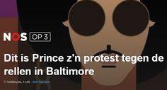 Prince wil dat het afgelopen is met de onrust in de Amerikaanse stad Baltimore. Daarom bracht de artiest gisteren een protestlied uit. In het kersverse nummer, met de originele titel Baltimore, roept hij op tot vrede.