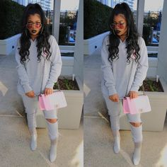 """De'arra Taylor on Instagram: """"Slay all day everyday ✨ Outfit from: @misspap 10% OFF DISCOUNT CODE - DEARRA10 #misspapped Shades from: @styleandbeauty """""""