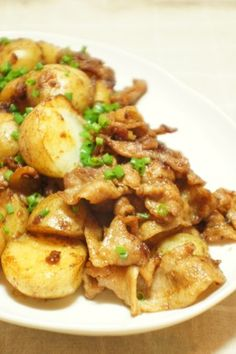 新じゃがと豚バラのこってり炒め by 。・うらら。・。 【クックパッド】 簡単おいしいみんなのレシピが289万品