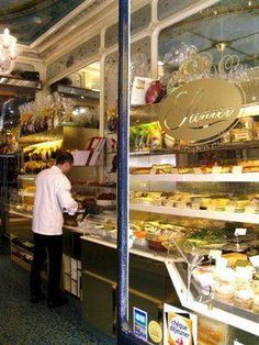 A classic and renowned patisserie shop in Paris, France... 51 Rue, Montorgueil, 75002