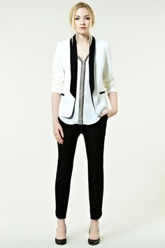 TUX CONTRAST JACKET £75 Warehouse  The simplest stylist day to night look - wear over anything. Everyone needs one!    #testtag http://www.stylenibble.com