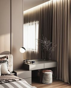 Modern Luxury Bedroom, Master Bedroom Interior, Bedroom Furniture Design, Modern Bedroom Design, Small Room Bedroom, Room Ideas Bedroom, Luxurious Bedrooms, Home Decor Bedroom, Decor Interior Design