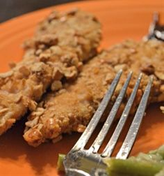 Pretzel Crusted Chicken Tenders (Gluten Free)