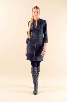 Front Zip Dress SZ4516