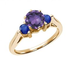 Zales Oval Amethyst and 1/20 CT. T.w. Diamond Split Shank Ring in Sterling Silver with 14K Rose Gold Plate 7L2CvYv