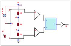 Circuit Diagram For Automatic Street Light | Automatic Street Light Using 555 Timer During Day Time Techmess