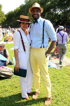 Roaring Twenties Street Style From the Jazz Age Lawn Party
