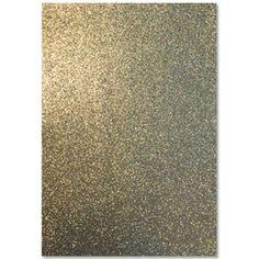 Moosgummi Glitter Gold A4 - 2 mm