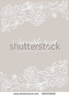 Find Template Frame Design Card Vintage Lace stock images in HD and millions of other royalty-free stock photos, illustrations and vectors in the Shutterstock collection. Lace Flowers, Floral Lace, Lace Embroidery, Embroidery Designs, Romanian Lace, Lace Painting, Paper Lace, Lace Tattoo, Crafts Beautiful