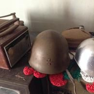Japanese private helmet from WW2
