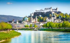 Salzburg, Austria - We stayed in Salzburg for 3 nights. We spent one day exploring this lovely city and then we took day trips to nearby towns. It is the perfect home base as there are so many sites to see close by! Lonely Planet, Grand Tour, Salzburg Austria, Graz Austria, Cities In Europe, Europe Europe, Most Beautiful Cities, Cool Countries, Holiday Destinations