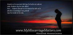 Usted ha esperado y esperado y finalmente esta aquí. Únase a nuestra nueva pagina Miscarriage Matters, Inc en Español y obtenga el apoyo que usted necesita.   http://www.mymiscarriagematters.com/miscarriage-matters-en-espantildeol.html  Mujeres unasen: https://www.facebook.com/groups/1534337193504991/  #FuerzaUnida #AumentarConciencia