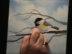 Wilson Bickford Chickadee Painting Techniques - Intermediate/Advanced