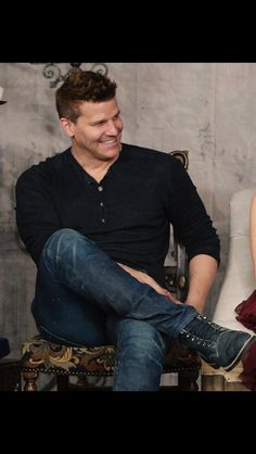 David Boreanaz Lover : Foto