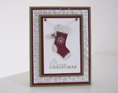 Stampin Up Stampin Up Stitched Stocking