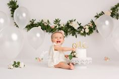 NJ First Birthday Photography | Cake Smash | Boho Birthday Smash