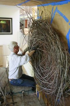 NEST BUILDING with PATRICK DOUGHERTY