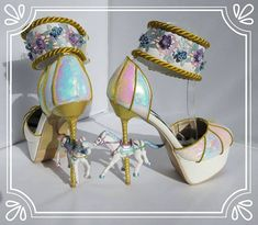 So, what have I been up to lately? Making lots of fab clothes, shoes and accessories. All will be available for sale at www.chelise.co.uk  Funfair Carousel horse shoes. There is a matching funfair inspired dress and bag available.  #chelise #funfair #funfairshoes #carnival #carnivalshoes #cosplay #cosplayshoes #kawaii #kawaiishoes #kawaiihorseshoes #crousel #crouselshoes #carouselhorse #carouselhorseshoes #iridescent #iridescentshoes