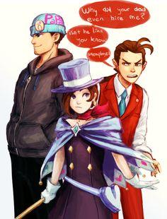 phoenix, trucy, and apollo