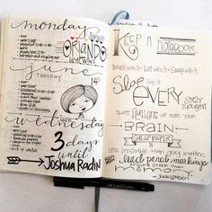 Bullet Journal Pages 50-51