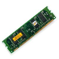 Memory consists of electronic components that store instructions.