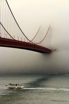39 Super Ideas for wallpaper paisagem natureza Cool Pictures, Cool Photos, Beautiful Pictures, Landscape Photography, Nature Photography, Photos Voyages, Land Art, Golden Gate Bridge, Belle Photo