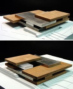 I like the presentation of this model. The landscape is plain and minimal to focus on the architecture.
