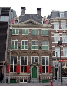 The Rembrandt House Museum is the house in Jodenbreestraat in Amsterdam, Netherlands, where Rembrandt lived and painted for nearly twenty years. It is now a museum. Rembrandt purchased the house in 1639 and lived there until he went bankrupt in Netherlands Country, Kingdom Of The Netherlands, Amsterdam Netherlands, Amsterdam Art, Amsterdam Travel, Amsterdam Attractions, Amsterdam Things To Do In, Dutch Painters, Rembrandt