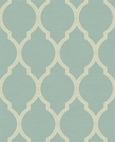 This is the color I want in my living room! Not the pattern, just the blue/green. :)
