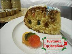 ΣΥΝΤΑΓΕΣ ΤΗΣ ΚΑΡΔΙΑΣ: Χριστουγεννιάτικο κέικ με γλάσο ινδοκάρυδου