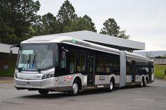 Caio Millennium BRT ônibus superarticulado em São Paulo