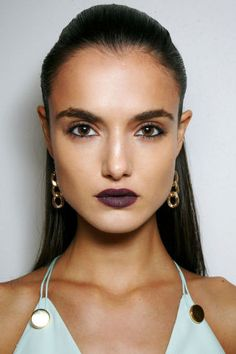 From candy apple lips to electric blue eyes, these are the top beauty trends that will take over the Spring 2016 season.